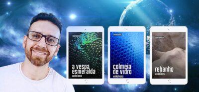 Maikel Rosa | Escritor de ficção científica onde aborda questões sociais e dilemas sobre a consciência humana em suas obras