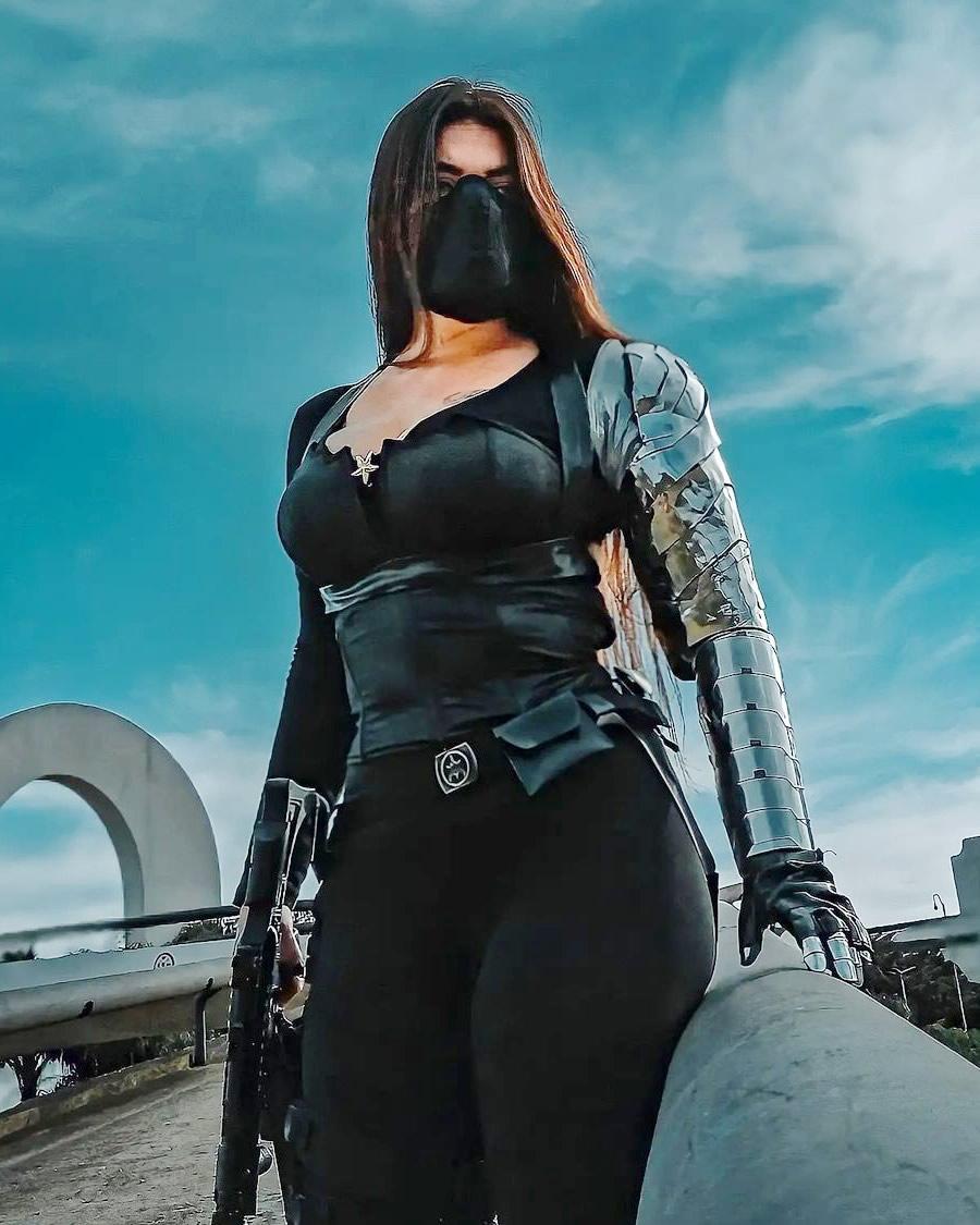 Nathália Corrêa - Cosplay Mulher Maravilha