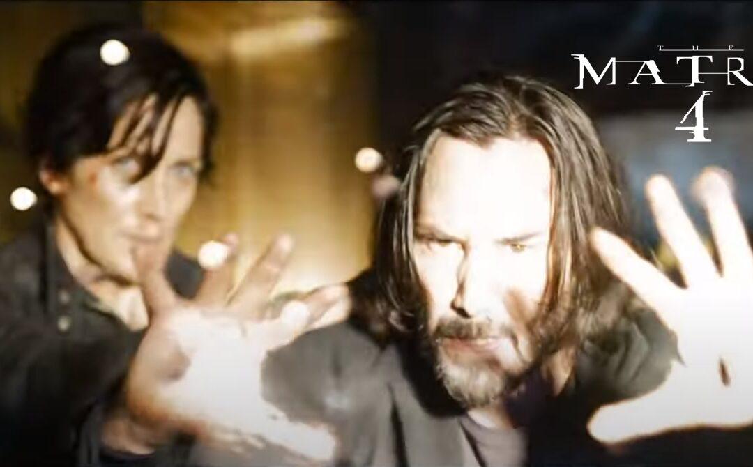 The Matrix Ressurrections | Trailer oficial divulgado pela Warner Bros com Keanu Reeves, Carrie-Anne Moss e Yahya Abdul-Mateen II