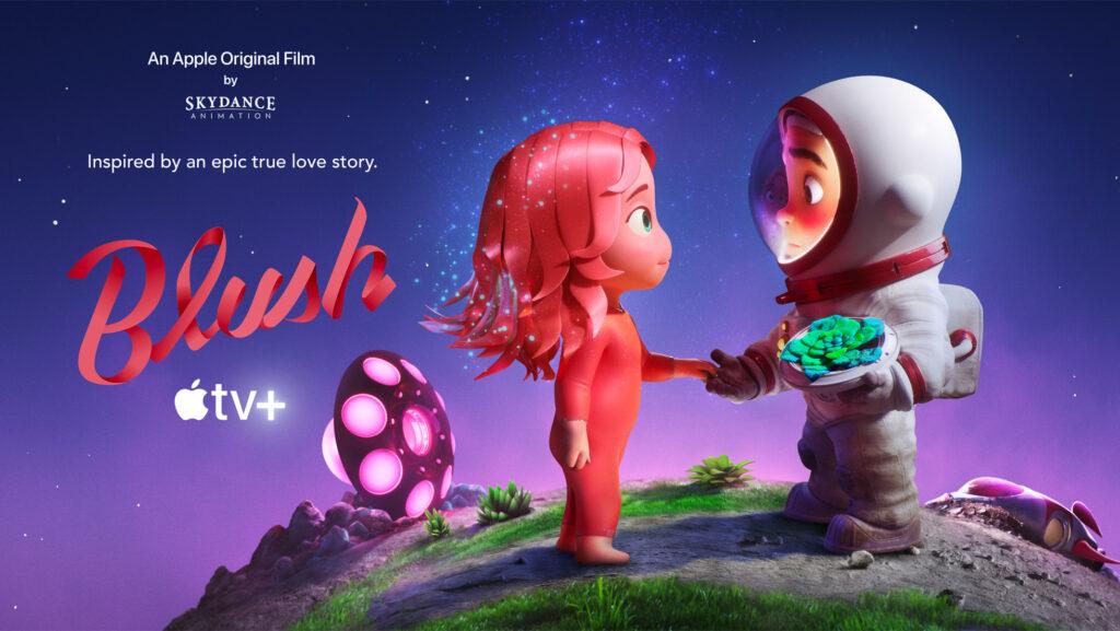 BLUSH Animacao Curta metragem Apple TV e Skydance Animation Poster 1024x577 - Blush   Animação de ficção científica, curta-metragem produzido pela Apple Original e Skydance Animation