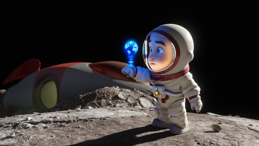 BLUSH Animacao Curta metragem Apple TV e Skydance Animation imagem3 - Blush   Animação de ficção científica, curta-metragem produzido pela Apple Original e Skydance Animation