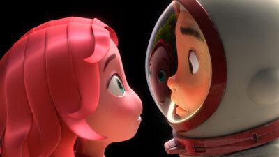 Blush   Animação de ficção científica, curta-metragem produzido pela Apple Original e Skydance Animation