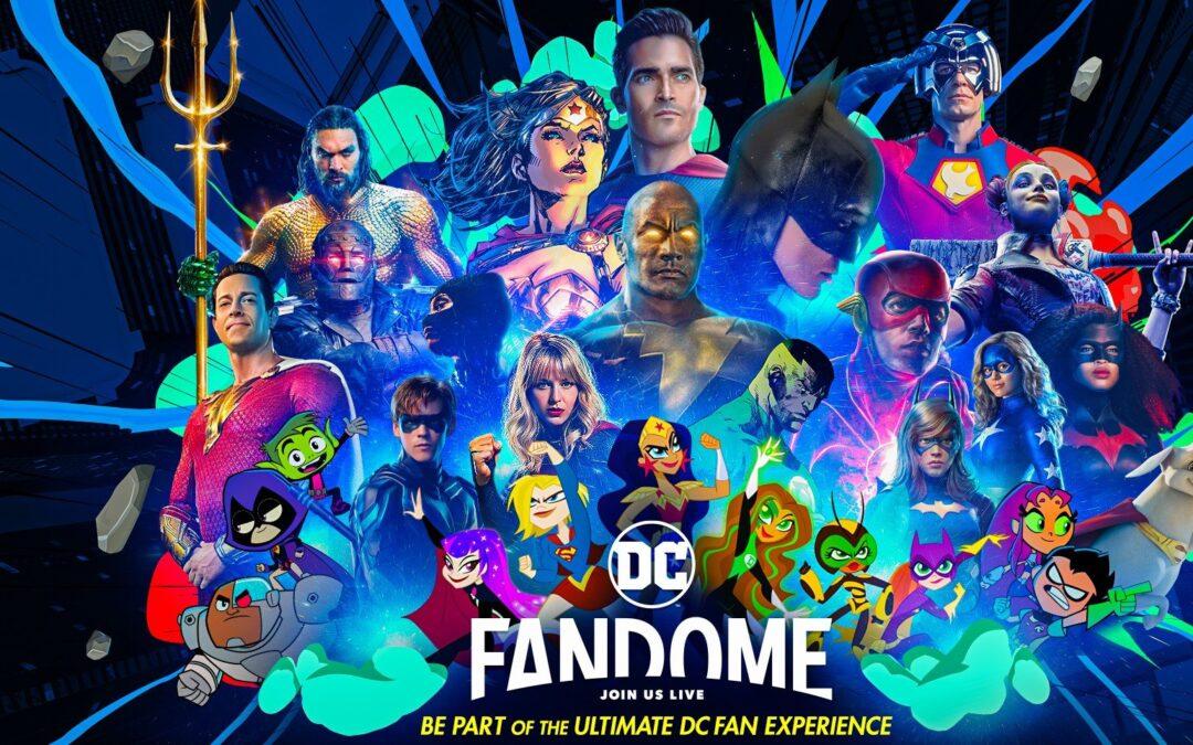 DC FanDome 2021 | Evento online em 16 de outubro com apresentação de vários lançamentos de filmes e séries da DC Comics