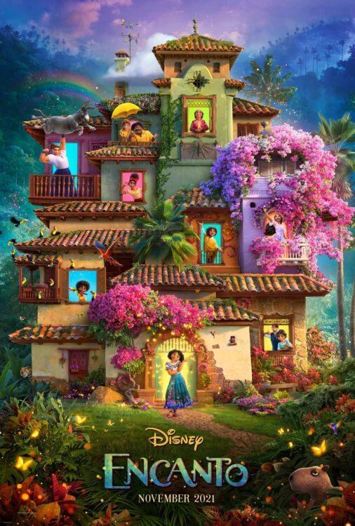Encanto animacao da Disney Pictures sobre familia Madrigais que vivem escondidos nas montanhas da Colombia Poster1 506x750 - Encanto   Trailer da animação da Disney Pictures sobre a família Madrigais que vivem escondidos nas montanhas da Colômbia
