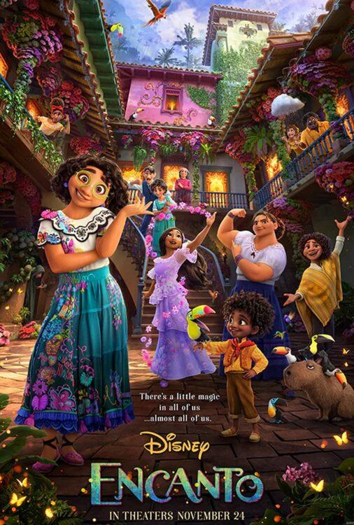 Encanto animacao da Disney Pictures sobre familia Madrigais que vivem escondidos nas montanhas da Colombia Poster2 506x750 - Encanto   Trailer da animação da Disney Pictures sobre a família Madrigais que vivem escondidos nas montanhas da Colômbia