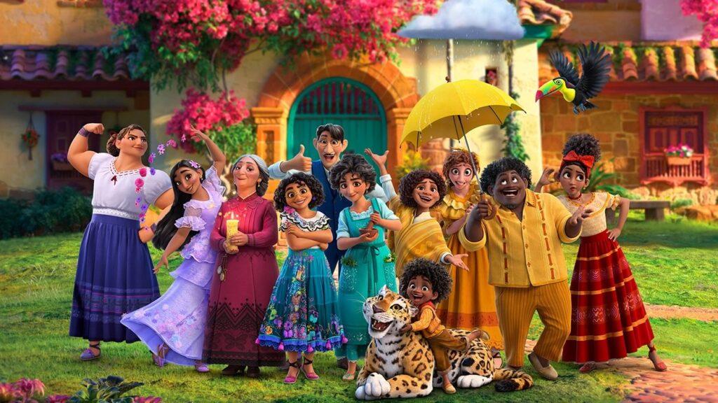 Encanto animacao da Disney Pictures sobre familia Madrigais que vivem escondidos nas montanhas da Colombia imagem1 1024x576 - Encanto   Trailer da animação da Disney Pictures sobre a família Madrigais que vivem escondidos nas montanhas da Colômbia