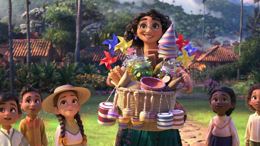 Encanto animacao da Disney Pictures sobre familia Madrigais que vivem escondidos nas montanhas da Colombia imagem2 1024x576 - Encanto   Trailer da animação da Disney Pictures sobre a família Madrigais que vivem escondidos nas montanhas da Colômbia