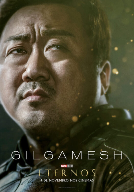 Eternos Marvel Studios Poster Gilgamesh 525x750 - Eternos | Marvel Studios divulga vídeo feature e pôsteres dos novos seres do Universo Cinematográfico da Marvel