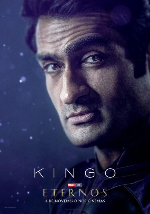 Eternos Marvel Studios Poster Kingo 525x750 - Eternos | Marvel Studios divulga vídeo feature e pôsteres dos novos seres do Universo Cinematográfico da Marvel