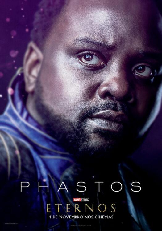 Eternos Marvel Studios Poster Phastos 525x750 - Eternos | Marvel Studios divulga vídeo feature e pôsteres dos novos seres do Universo Cinematográfico da Marvel