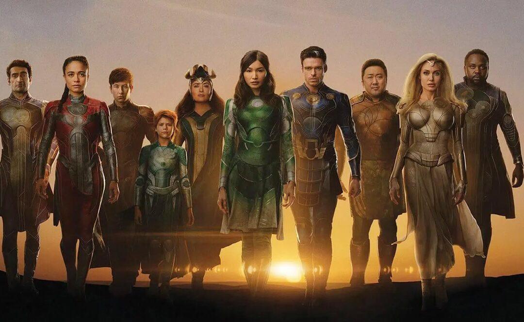 Eternos | Marvel Studios divulga vídeo feature e pôsteres dos novos seres do Universo Cinematográfico da Marvel