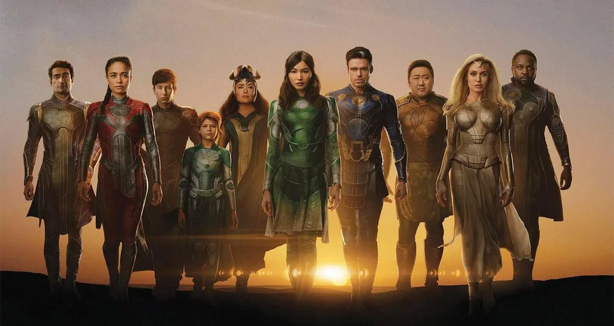 Eternos | Marvel Studios divulga vídeo feature dos novos seres do Universo Cinematográfico da Marvel