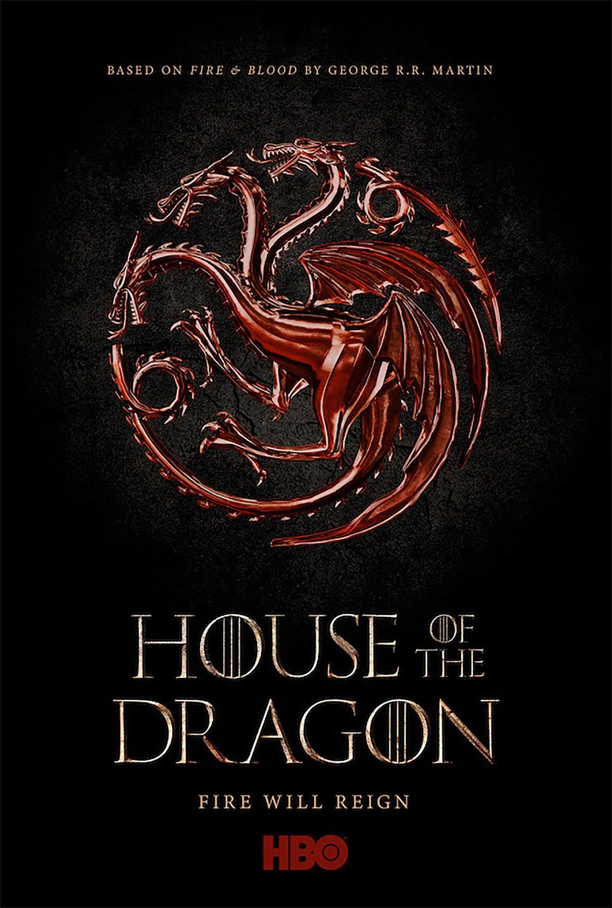 House Of The Dragon   HBO divulga teaser da série que antecede em 200 anos Game of Thrones