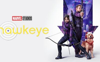 Hawkeye | Novo pôster da série Disney Plus com Hailee Steinfeld, Jeremy Renner e o cão Lucky
