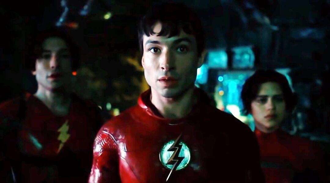 The Flash | Trailer divulgado na DC Fandome apresenta Ezra Miller como Flash e Michael Keaton como Batman