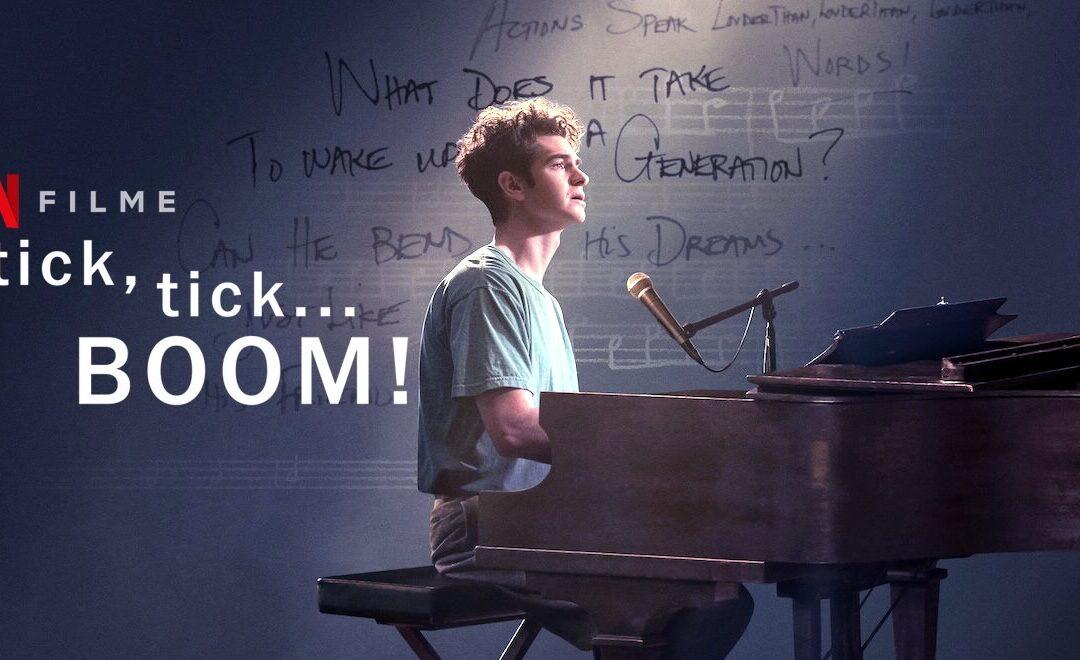 Tick, tick…BOOM! | Andrew Garfield na adaptação do musical autobiográfico de Jonathan Larson em filme na Netflix