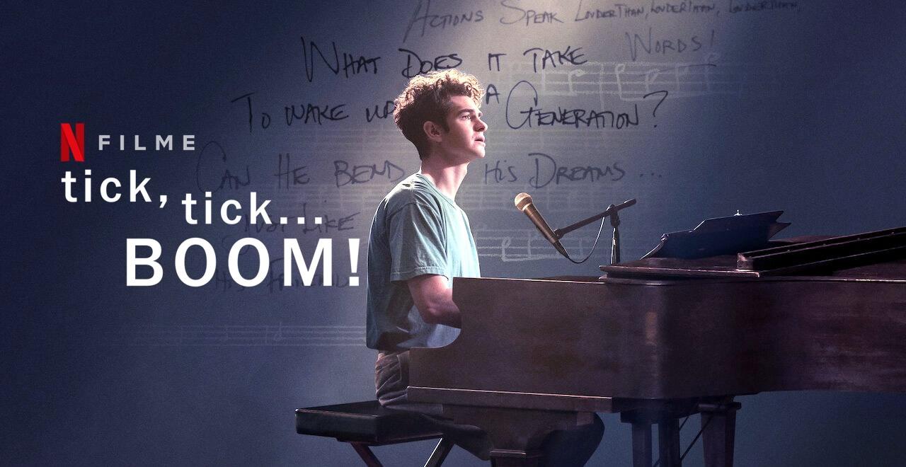 Tick, tick...BOOM!   Andrew Garfield na adaptação do musical autobiográfico de Jonathan Larson em filme na Netflix