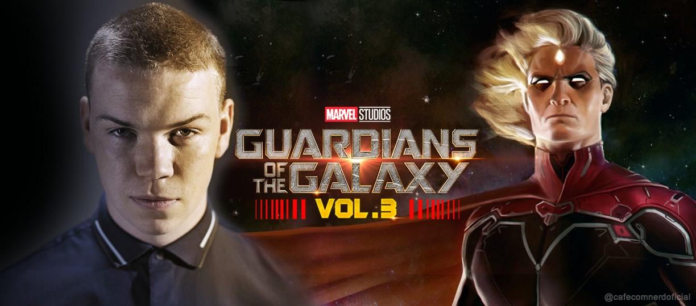 Will Poulter, de The Maze Runner, interpretará o personagem Adam Warlock em Guadiões da Galaxia 3 segundo Deadline